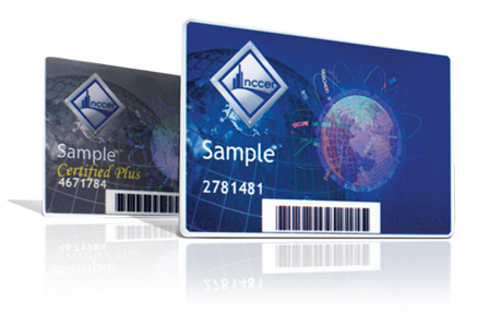 NCCER Wallet Cards