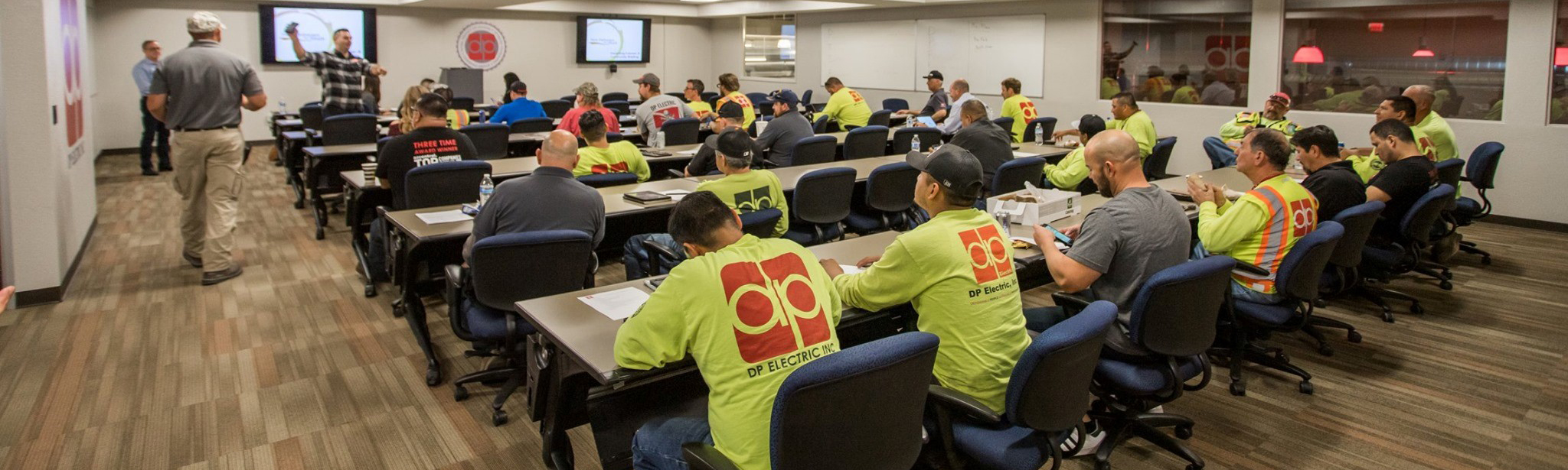 DP Electric Integrates NCCER Curriculum During Annual Development Program