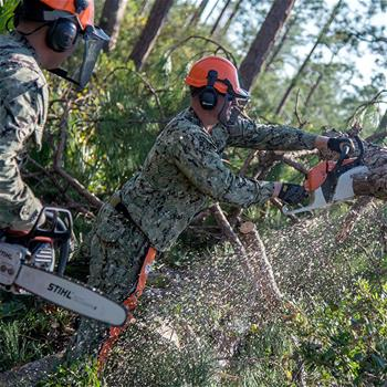 We Build, We Fight: How the Navy Seabees Combine Construction & Combat (Disaster Relief)