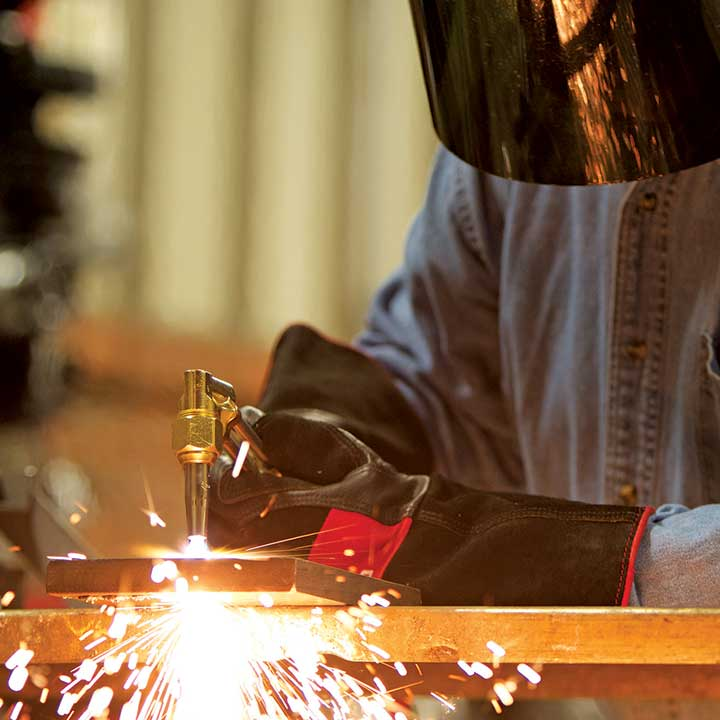 Students Spend Summer Becoming Welders