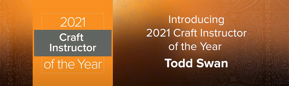 ABC Names 2021 Craft Instructor of the Year