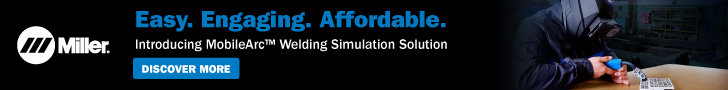 Advertisement - Miller Electric MobileArc Welding Simulation Solution