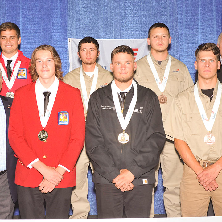 NCCER Congratulates the 2018 SkillsUSA National Carpentry and Masonry Competition Winners
